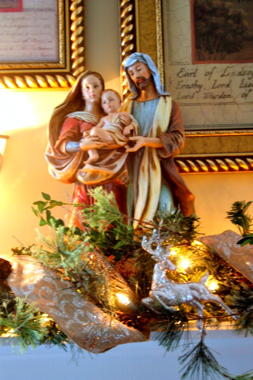 Holy Family Christmas Figure