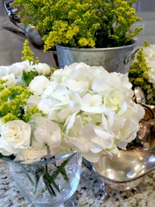 White Holiday Flowers