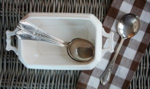 Vintage Soup Spoons and Two Favorite Soup Recipes