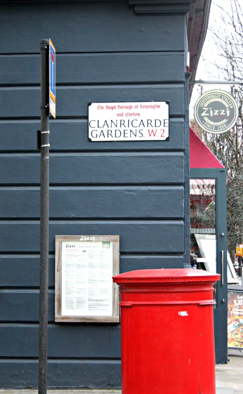 Clanricarde Gardens Street Sign London