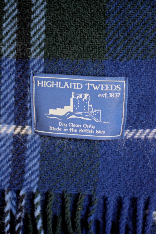 Highland Tweeds Wool Blanket