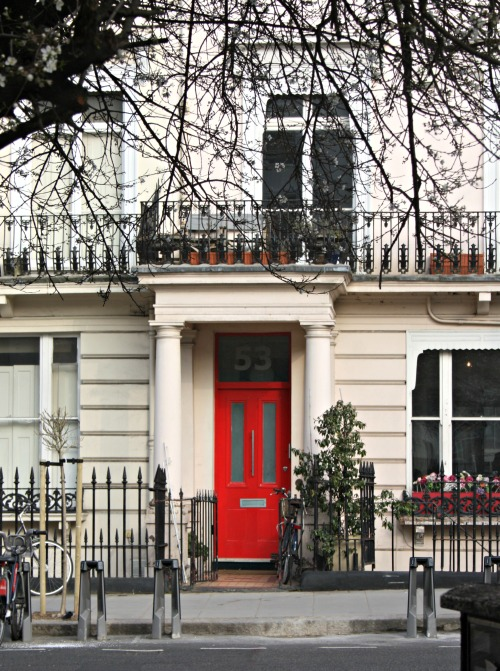London Doorway
