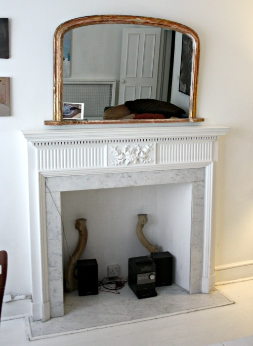 London Flat Fireplace