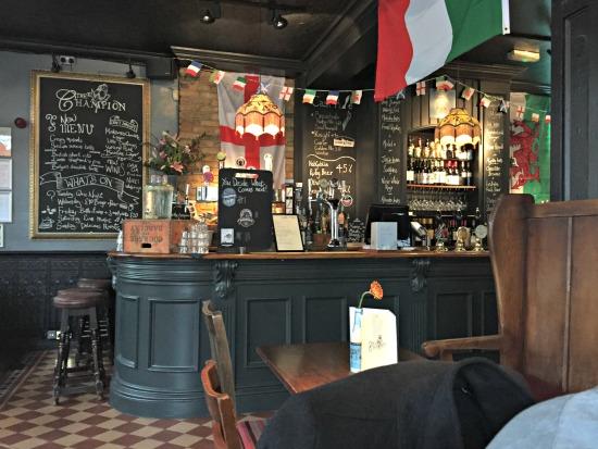 London Pub Interior