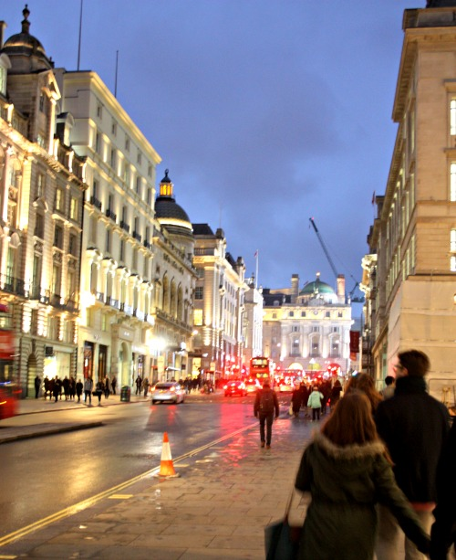 London Street at Dusk
