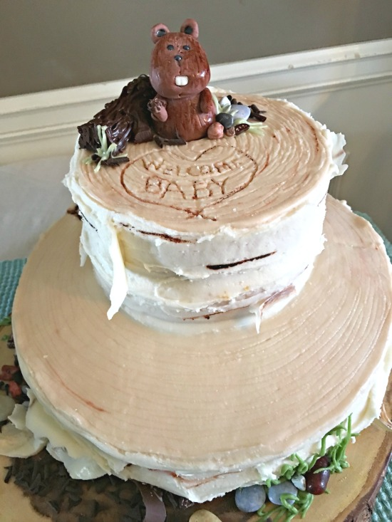 Woodland Animals Baby Shower Cake Creating This Life